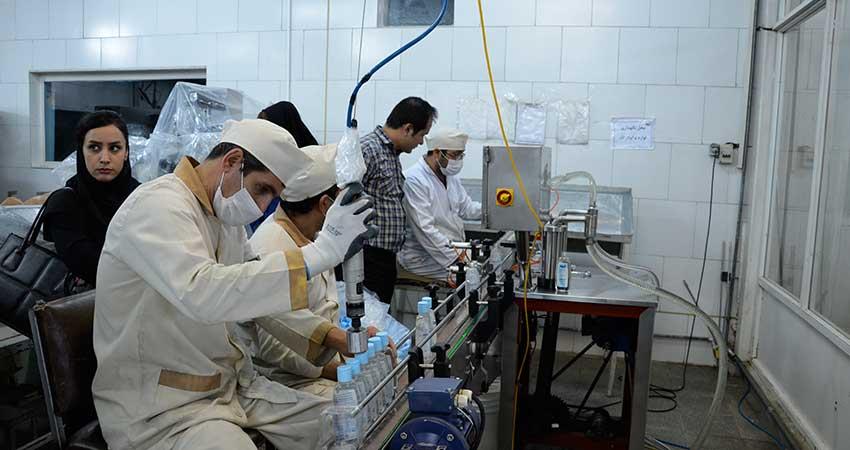 گزارش تصویری بازدید عاملان فروش گروه بهداشتی فیروز از کارخانه فیروز