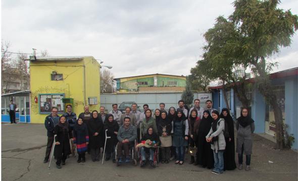 """تبریک مدیران فیروز به کانون معلولین به مناسبت """"روز جهانی معلولان"""""""