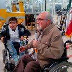هدف ما از استخدام معلولان در فیروز زنده نگهداشتن ارزشهای معنوی انقلاب است