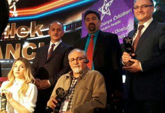 """تندیس ویژه اولین کنگره جهانی"""" دنیای بدون محدودیت """" به ایران رسید"""