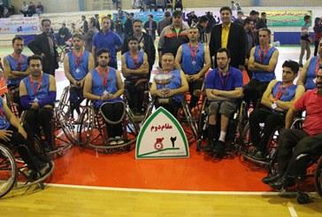 راهیابی تیم بسکتبال ویلچرفیروز به رقابت های دسته یک